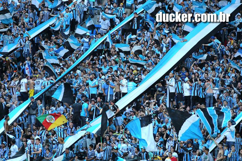 Porto Alegre/RS - 06/09/2015 - Torcida do Grêmio na Arena - Foto: Richard Ducker/Frame